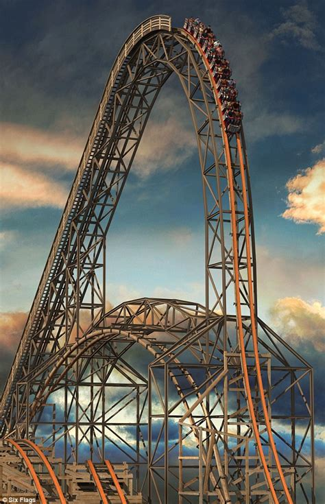 Six Flags open Goliath, world's tallest, steepest and