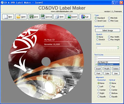CD and DVD Label Maker 1