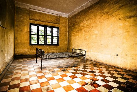 Torture Room at S-21 (Tuol Sleng) | Formerly the Tuol Svay