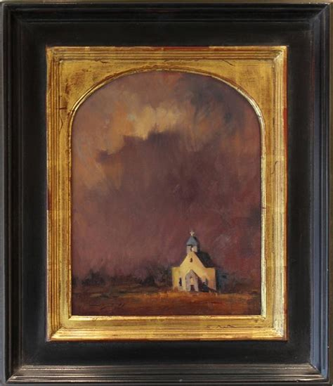 Peter Campbell - Old Church New Mexico, Painting at 1stdibs
