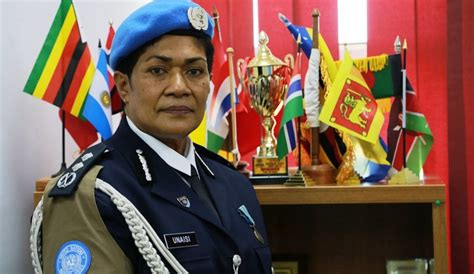 New UN Police Commissioner urges other female officers to