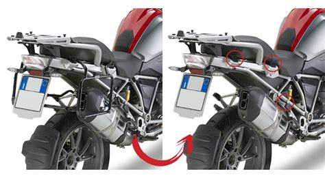Side case mounting Dolomiti for BMW R 1200 GS, LC (2013