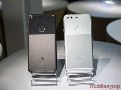 Google Pixel and Pixel XL specs, pricing and Canadian