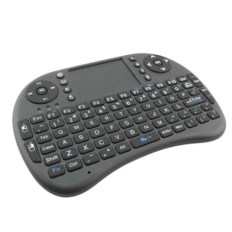 Wireless Mini Keyboard with Touchpad Mouse and Multimedia