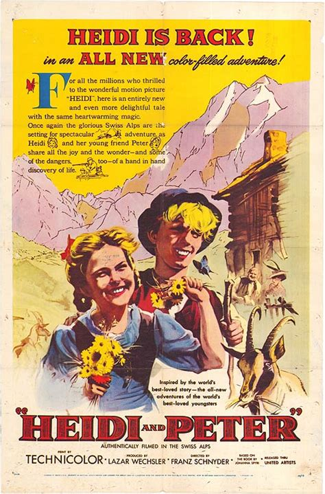 Heidi And Peter movie posters at movie poster warehouse
