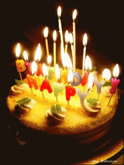 Happy birthday cake gif 11 » GIF Images Download