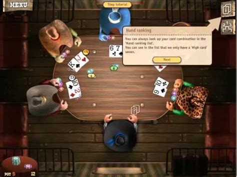 How to Play Governor of Poker 2 free game online Tutorial