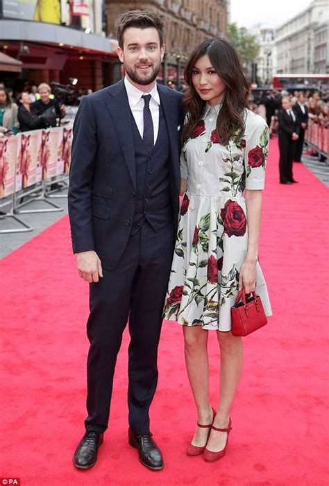 Gemma Chan steals style limelight from Jack Whitehall at