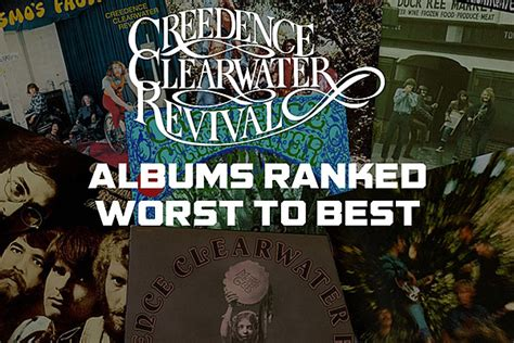 Creedence Clearwater Revival Albums, Ranked From Worst to Best