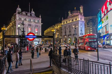 Piccadilly Circus at night in London | London city, London