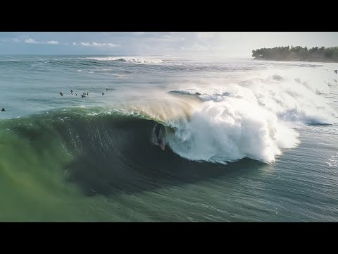 December Swell hits Donegal – Best surf ever in Ireland