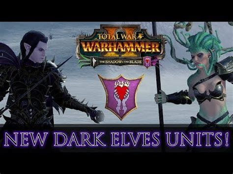 NEW DARK ELVES UNITS! Close-Up & Stats Guide | The Shadow
