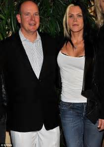 Prince Albert of Monaco attends charity event with singer