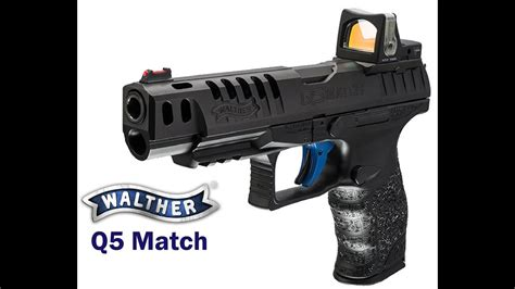 Review of Walther Q5 Match - YouTube