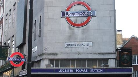 Leicester Square Underground Station - Tube Station