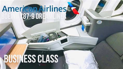 American Airlines Business Class   Boeing 787-9 Dreamliner
