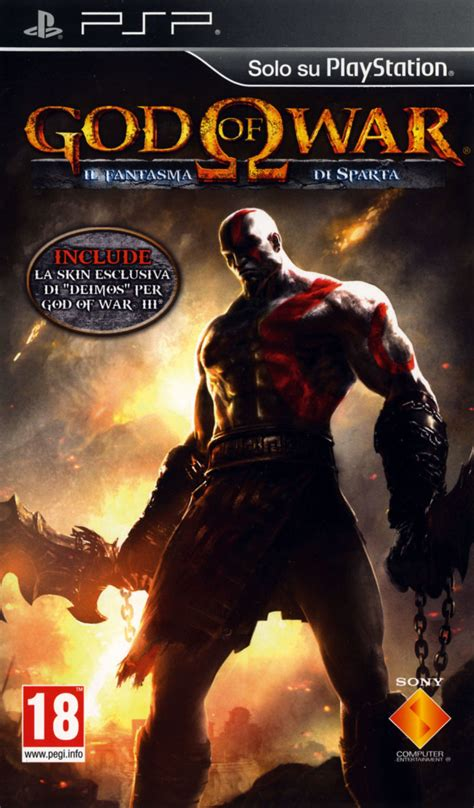 God of War: Ghost of Sparta (2010) PSP box cover art