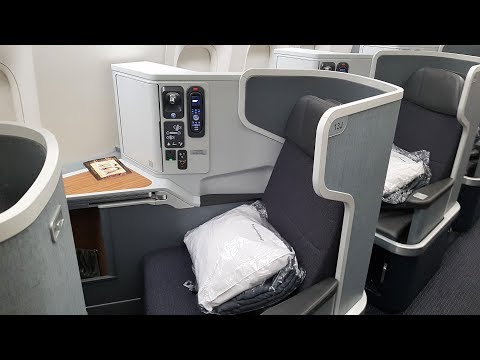 The Many Business Class Products of American Airlines