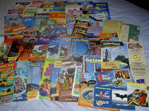 Theme Park Brochure Collection (old) | I recently dug up