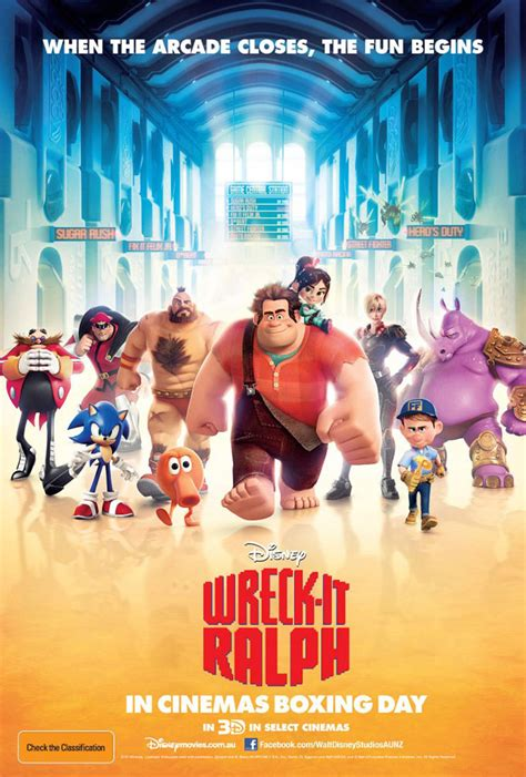 New Pictures & International Poster for 'Wreck-It Ralph