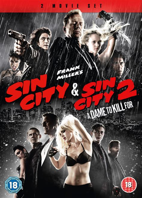 Sin City & Sin City 2: A Dame To Kill For Double Pack DVD