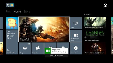 Xbox One gets external storage, real name support with