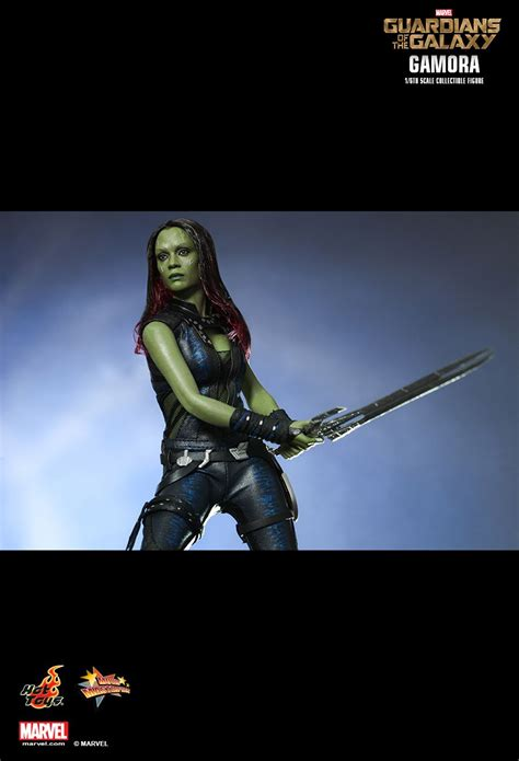 Preview: Hot Toys Gamora (from Guardians of the Galaxy)