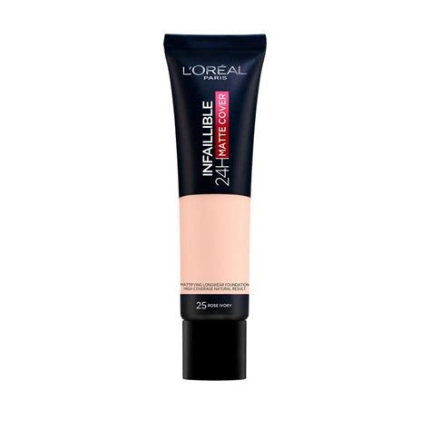 Buy L'Oreal Infallible 24 Hour Matte Foundation 25 Rose