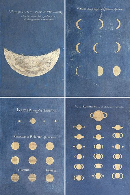 Maria Clara Eimmart, Phase of the Moon, Phases of Venus
