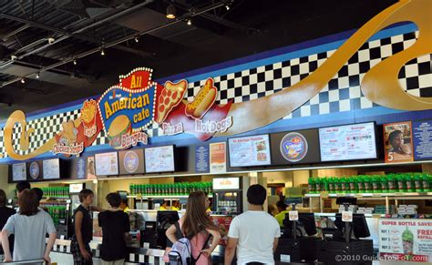 All American Cafe | Guide to Six Flags over Texas